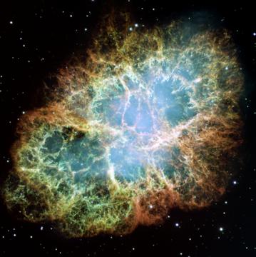 Nebulosa Cangrejo (remanente de Supernova)